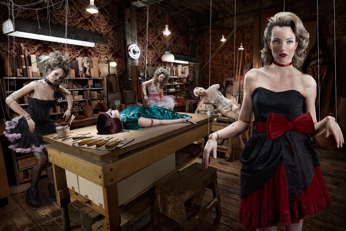 <p align=center><em>Marionette Workshop</em>, 2011</p>