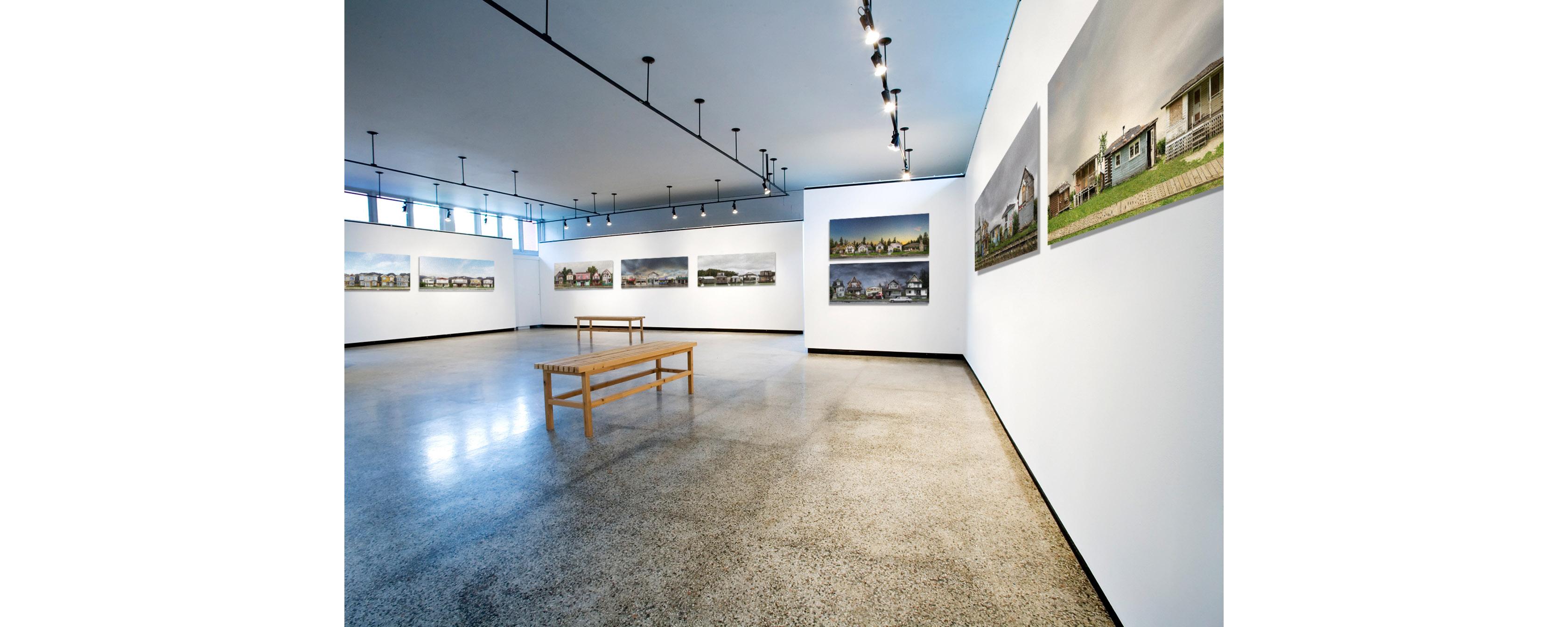 18″ x 45″ prints, in installation